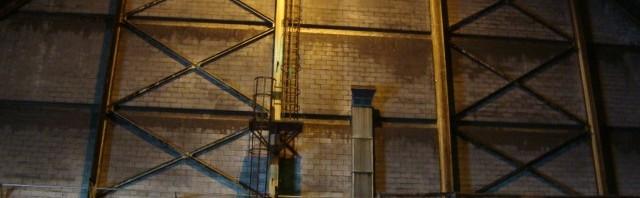 Raw sugar warehouse