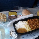 (Insert joke about airplane food) but actually it was delicious.