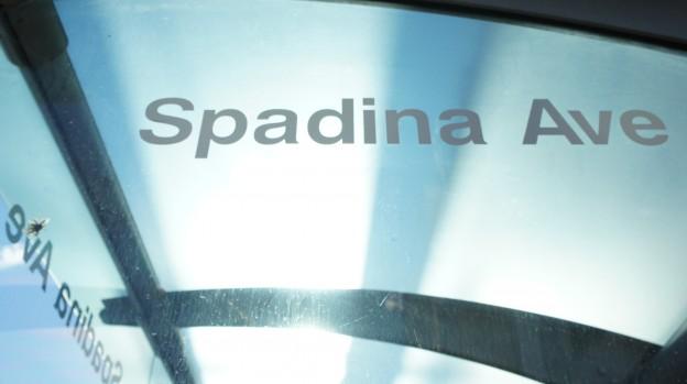 Spadina Ave.